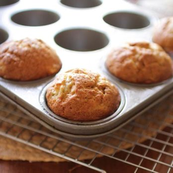 Small Batch Banana Muffins | One Dish Kitchen