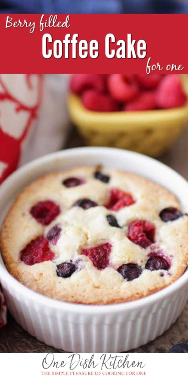 berry filled coffee cake | one dish kitchen